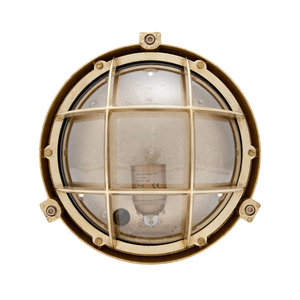 Vinga Brass 75W E27 clear glass