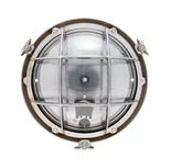 Onedin chrome 60W E27 clear glass