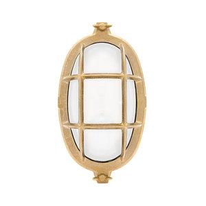 Waxholm brass E14 opaque glass