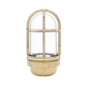 Koster brass 75W E27 clear glass