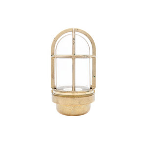 Koster brass 75W E27 opaque glass